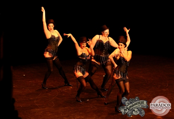 Venus Starr's School of Burlesque Students, photo by Paradox Photography