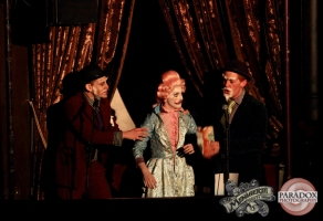 Clever Hansel, Timothy Taffy and Victor Victorious, photo by Paradox Photography