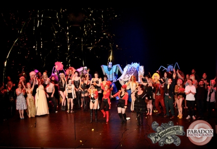 Curtain call, photo by Paradox Photography