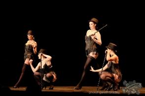 Venus Starr's School of Burlesque Students - photo by Gareth Bradley