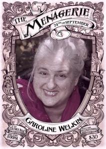 Caroline Welkin - Stand-up comedian, storyteller and trainer