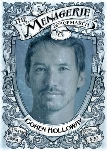 Cohen Holloway - Comedian & swear-wolf