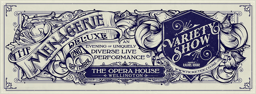 The Menagerie Deluxe, 2nd September 2017, The Opera House in Wellington
