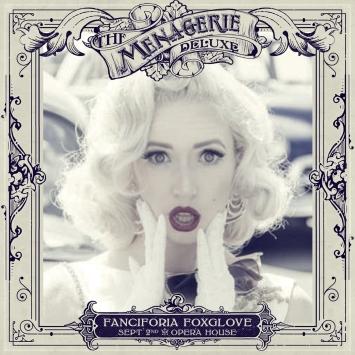 Fanciforia Foxglove - Burlesque Performer