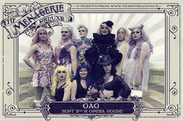 GAG - The Menagerie Deluxe 2017, Wellington Opera House, 2nd September