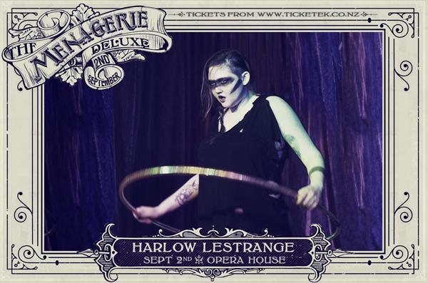 Harlow Lestrange - The Menagerie Deluxe 2017, Wellington Opera House, 2nd September