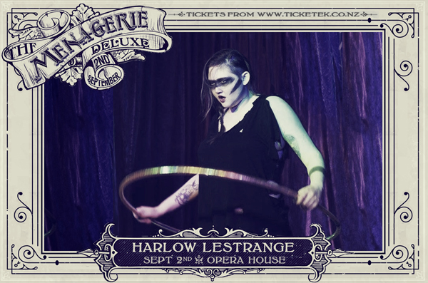 Harlow Lestrange - The Menagerie Deluxe 2017, Wellington Opera House, 2nd September