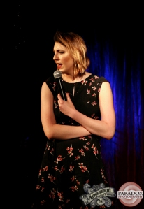 Melanie Bracewell - photo by Paradox Photography, at The Menagerie Wellington variety show