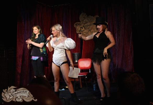 Harlow, Sera & Rachel, The Menagerie, January 2016