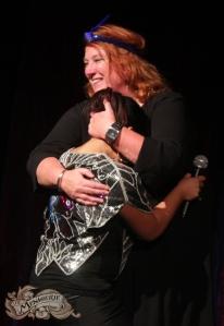 Ruth meets Molly - Photo by Natasha Halliday Photography