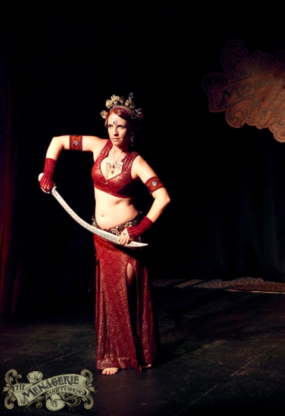 Aaralyn of TribalDiva Belly Dance - Photo by Paradox Photography