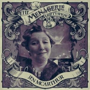 Jen McArthur framed