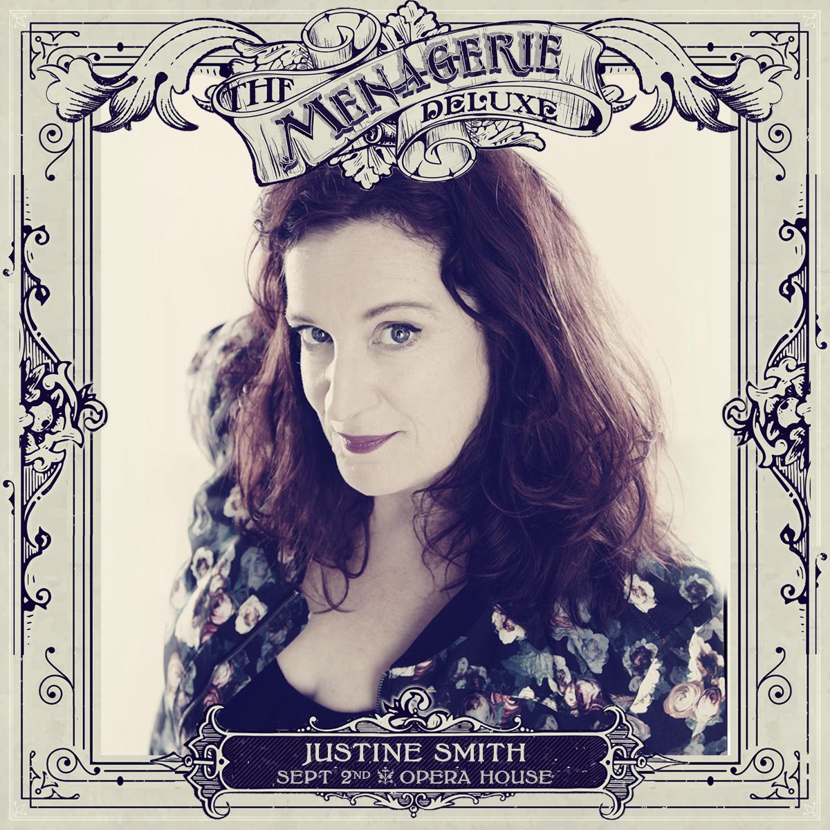 Justine Smith - Host