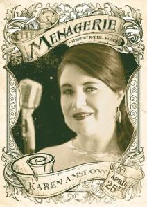 Karen Anslow - Chanteuse