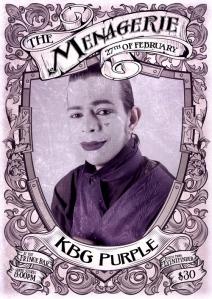 KBG Purple - Mime
