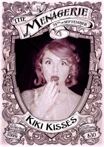 Kiki Kisses - Burlesque batteries not included