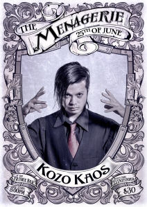 Kozo Kaos - juggler & magician