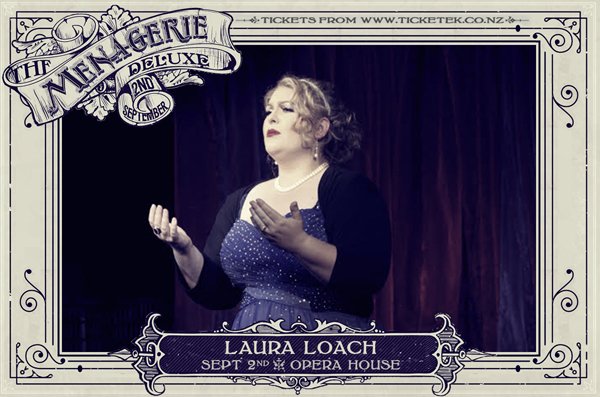 Laura Loach - The Menagerie Deluxe 2017, Wellington Opera House, 2nd September