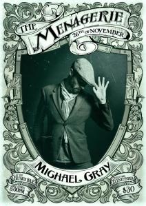 Michael Gray - Friendly Neighborhood Rhymer-Man, photo by Gareth Bradley