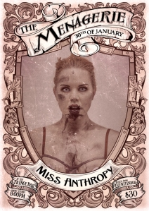 Miss Anthropy - Photo by Jocelen Janon