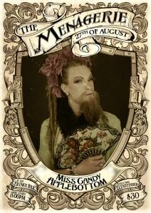 Miss Candy Applebottom - Cross dressing burlesque