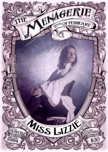 Miss Lizzie - Carnival Queen