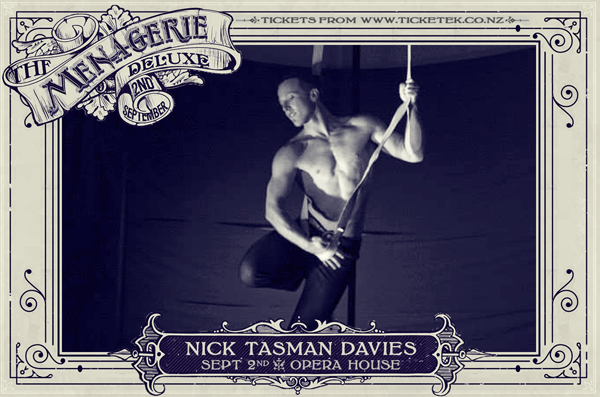 Nick Tasman Davies - The Menagerie Deluxe 2017