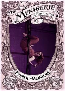 Pande-monium - Likes to hang around