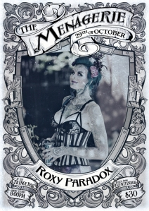 Roxy Paradox - sideshow & freakshow diva