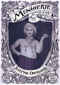 Stephii Onassis - MC & winner of Capital Drag 2016