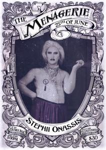 Stephii Onassis - MC & winner of Capital Drag 2016