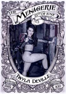 Twyla Deville - burlesque