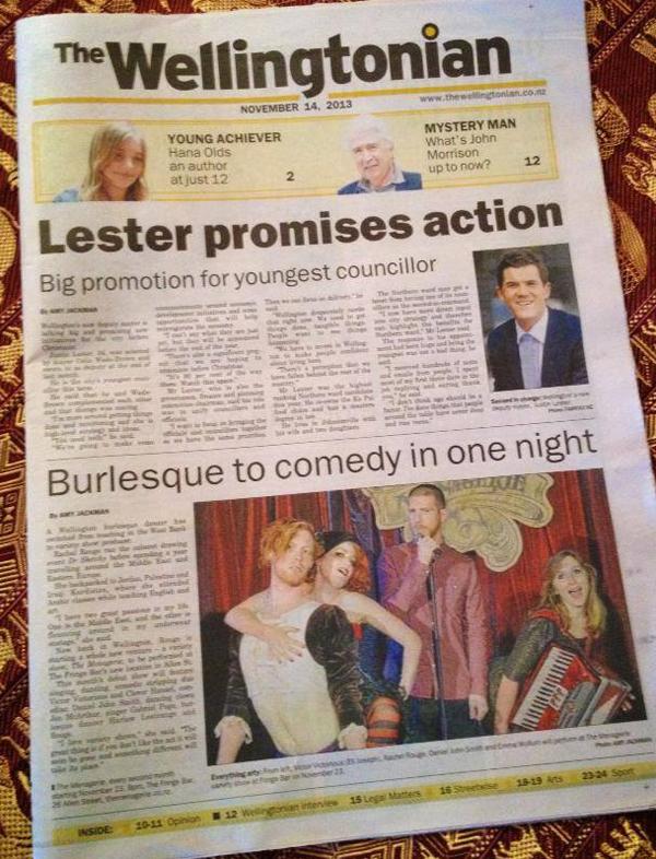 The Wellingtonian - November 14 2013