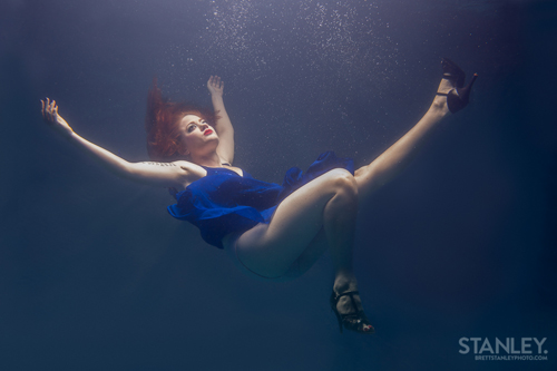 Brett Stanley Underwater shoot