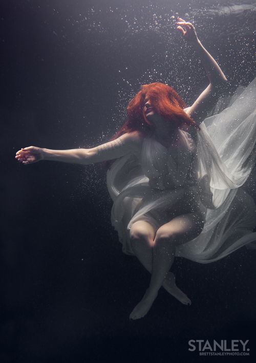 Brett Stanley Underwater shoot