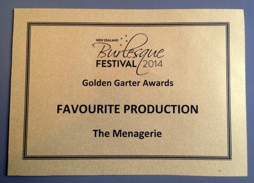 Fav Production Award