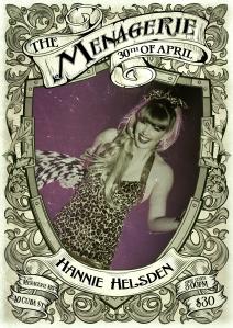 Hannie Helsden - burlesque hula hoop