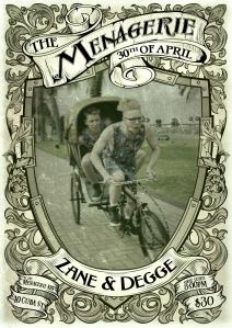 Zane & Degge - circus bros