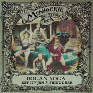 Bogan Yoga - Stretchercise gurus, The Menagerie variety show Wellington