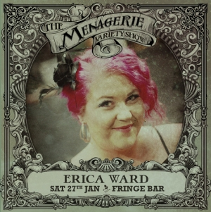 Erica Ward - Singer, The Menagerie variety show Wellington