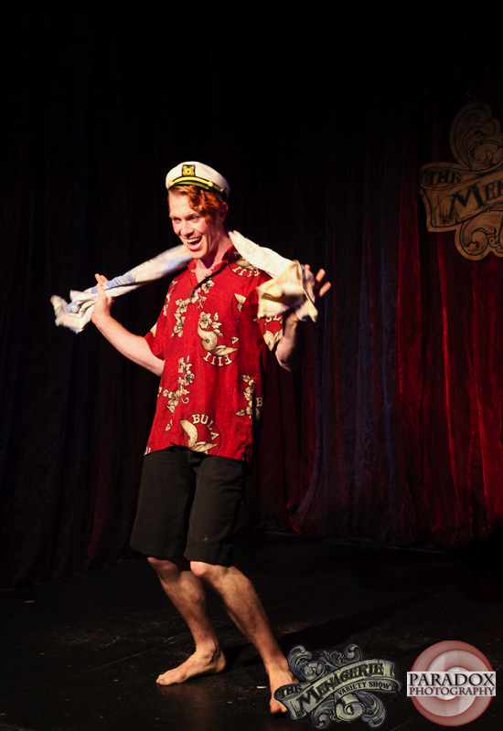 Victor Victorious, Paradox Photography, The Menagerie, Wellington variety show.