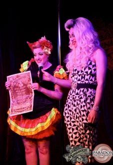 Kelly Fornia & Rachel Rouge, Paradox Photography, The Menagerie, Wellington variety show.