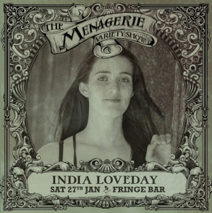 India Loveday - Broadway dancer, The Menagerie variety show Wellington