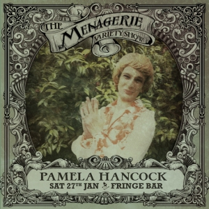 Pamela Hancock - The songstress of Bulls, The Menagerie variety show Wellington