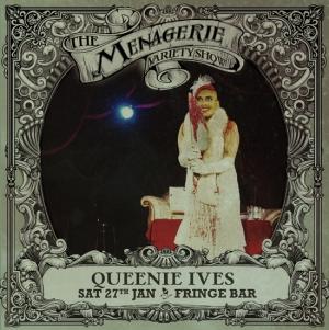 Queenie Ives - Montreal gorelesque, The Menagerie variety show Wellington