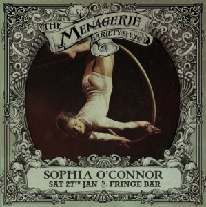 Sophia O'Connor - Aerialist, The Menagerie variety show Wellington