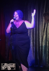 Erica Ward at The Menagerie Variety Show Wellington New Zealand