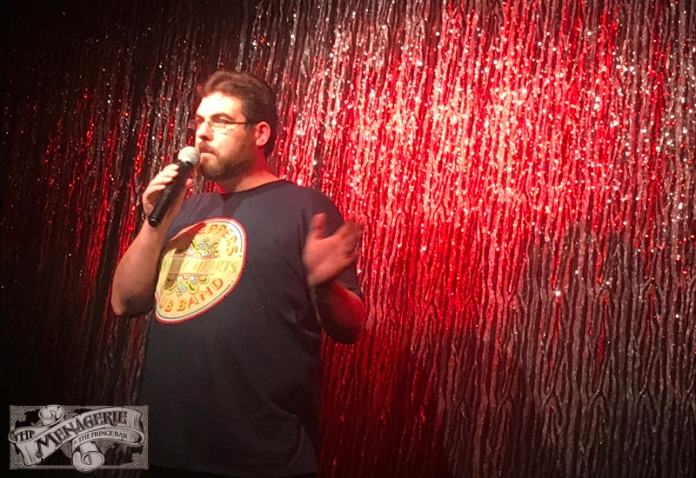 Craig Savage at The Menagerie Variety Show Wellington New Zealand