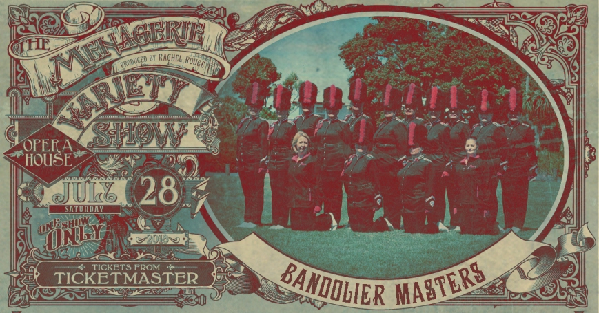 Bandolier Masters, The Menagerie Variety Show Wellington Opera House 28th July 2018
