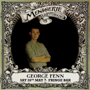 George Fenn - Experimental comic, The Menagerie Variety Show Wellington New Zealand